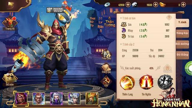 Trải nghiệm Loạn Thế Hồng Nhan - Xu hướng mới của dòng game chiến thuật - Ảnh 4.
