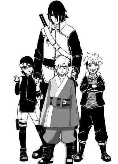 Đừng bất ngờ, Hokage bóng tối Sasuke sẽ trở thành thầy của Boruto và hướng dẫn cậu chàng sử dụng... súng để chiến đấu - Ảnh 2.