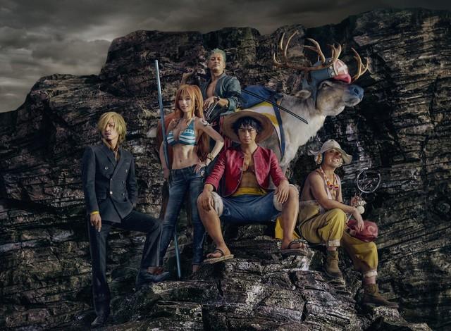 Khi băng Mũ Rơm trong One Piece rủ nhau đi đóng quảng cáo trong phiên bản live-action: Người nổi bật nhất vẫn là chị đại Nami - Ảnh 1.