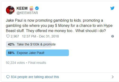 Pewdiepie lên tiếng chỉ trích em trai Paul Logan quảng cáo cho trang web đánh bạc hại người dùng - Ảnh 2.