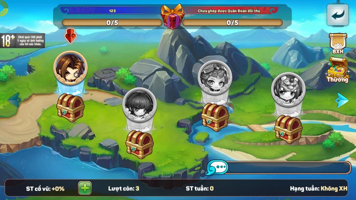 """Team nông dân """"gật gù"""" khen Boss của Tiểu Tiểu Tam Quốc Chí: Tùy chọn độ khó, mỗi ngày 1 loại, server càng lâu Boss càng trâu - Ảnh 11."""