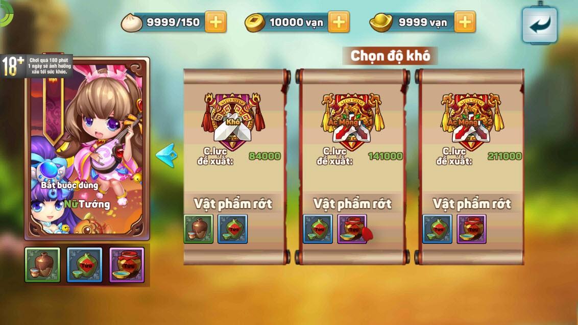 """Team nông dân """"gật gù"""" khen Boss của Tiểu Tiểu Tam Quốc Chí: Tùy chọn độ khó, mỗi ngày 1 loại, server càng lâu Boss càng trâu - Ảnh 5."""