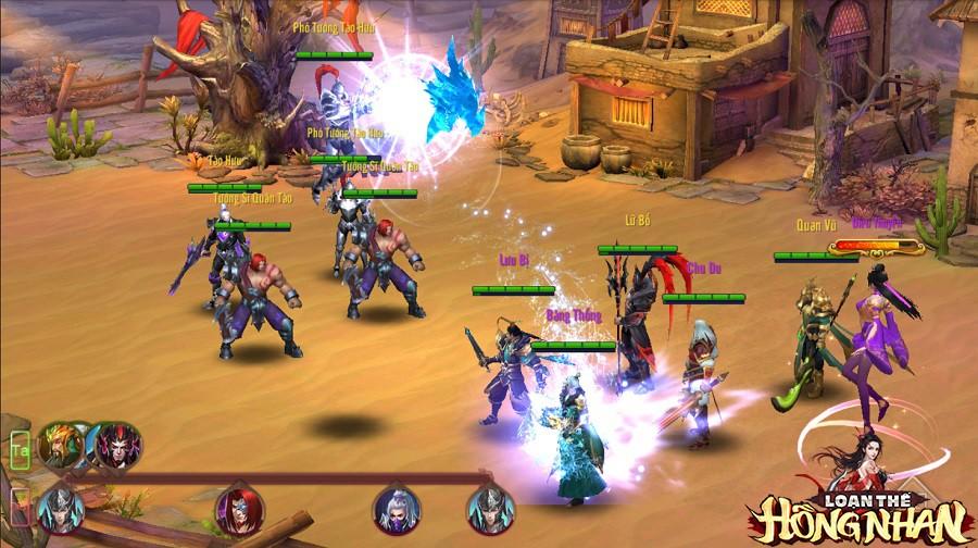 Hack não người chơi từ khi còn chưa ra mắt, Loạn Thế Hồng Nhan giới thiệu tính năng Viện Quân độc nhất vô nhị - Ảnh 6.