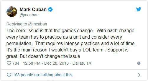 Vung tiền tấn tại Shark Tank Mỹ, thế nhưng Mark Cuban lại bỏ lỡ phi vụ đầu tư vào LMHT vì lý do này đây - Ảnh 2.
