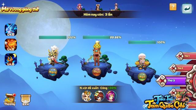 """Team nông dân """"gật gù"""" khen Boss của Tiểu Tiểu Tam Quốc Chí: Tùy chọn độ khó, mỗi ngày 1 loại, server càng lâu Boss càng trâu - Ảnh 8."""
