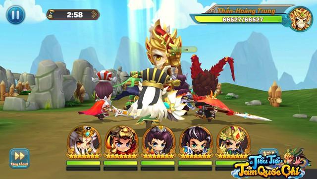 """Team nông dân """"gật gù"""" khen Boss của Tiểu Tiểu Tam Quốc Chí: Tùy chọn độ khó, mỗi ngày 1 loại, server càng lâu Boss càng trâu - Ảnh 10."""