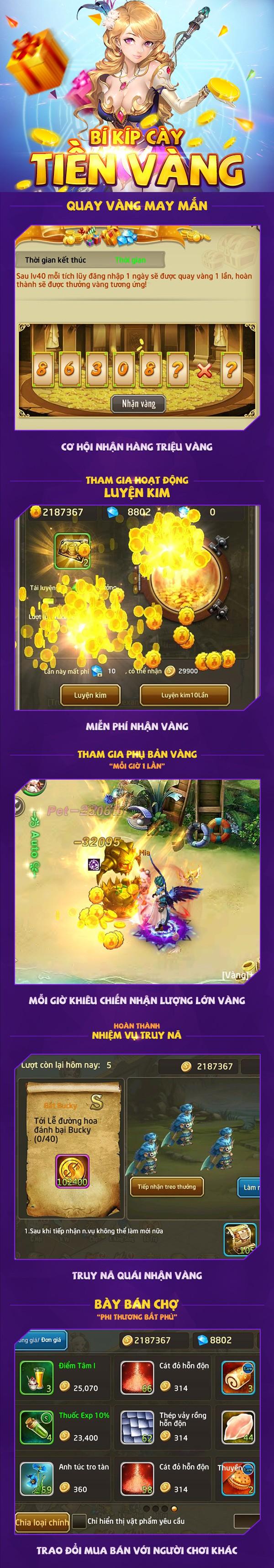4 mẹo vàng để sống không cần nạp trong Lục Địa 2 - gMO Hàn Quốc 99% tính năng đều liên server vừa ra mắt - Ảnh 3.