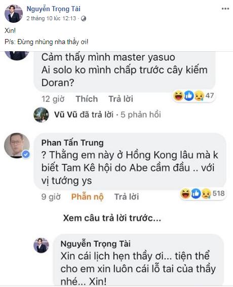LMHT: Nguyễn Trọng Tài - HongKong1 bất ngờ gạ kèo Solo Yasuo với Thầy Giáo Ba - Ảnh 3.