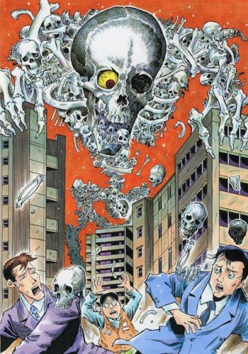 O-dokuro, yêu quái sở hữu diện mạo kinh dị nhất Nhật Bản - Ảnh 2.
