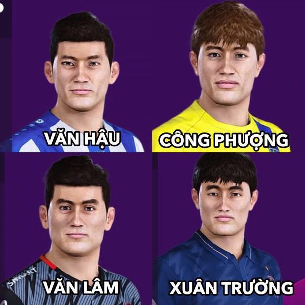 Bản mod chỉnh sửa khuôn mặt Văn Hậu, Văn Lâm trong PES 2020, cho phép trực tiếp điều khiển ĐTQG Việt Nam thi đấu - Ảnh 1.