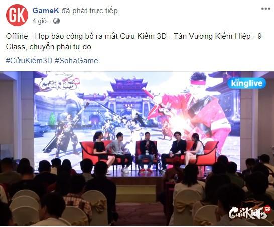 Họp báo Cửu Kiếm 3D và những keyword ấn tượng: Dàn PC 200 triệu, Kim Minh Huy, gái xinh, người mẫu Tây, vị thế bom tấn và một cộng đồng máu chiến - Ảnh 1.