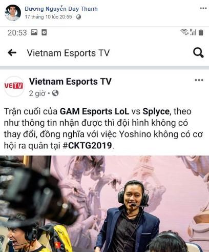 LMHT: Vẫn còn đang vi vu ở Đức nhưng Tinikun đã lại phát động cuộc chiến truyền thông mới với VETV - Ảnh 4.