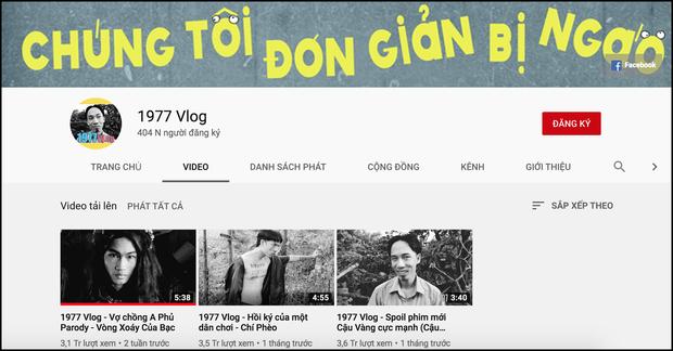1977 Vlog - thế lực mới của làng Youtube: Chỉ sau 3 clip đã giành được nút bạc, tự tạo vũ trụ của riêng mình - Ảnh 1.