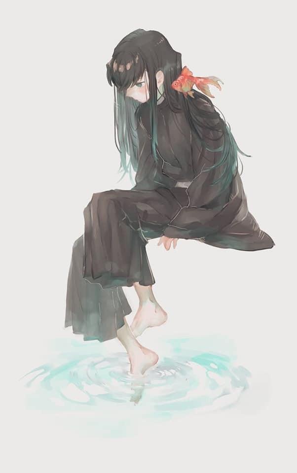 Ngắm loạt fan art tuyệt đẹp về Tokitou, chàng Hà Trụ vừa mới hy sinh trong Kimetsu no Yaiba - Ảnh 9.