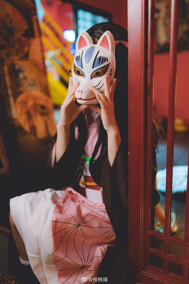Ngắm nhìn Em gái quốc dân Nezuko trong Kimetsu no Yaiba qua bộ ảnh cosplay đẹp mắt - Ảnh 7.