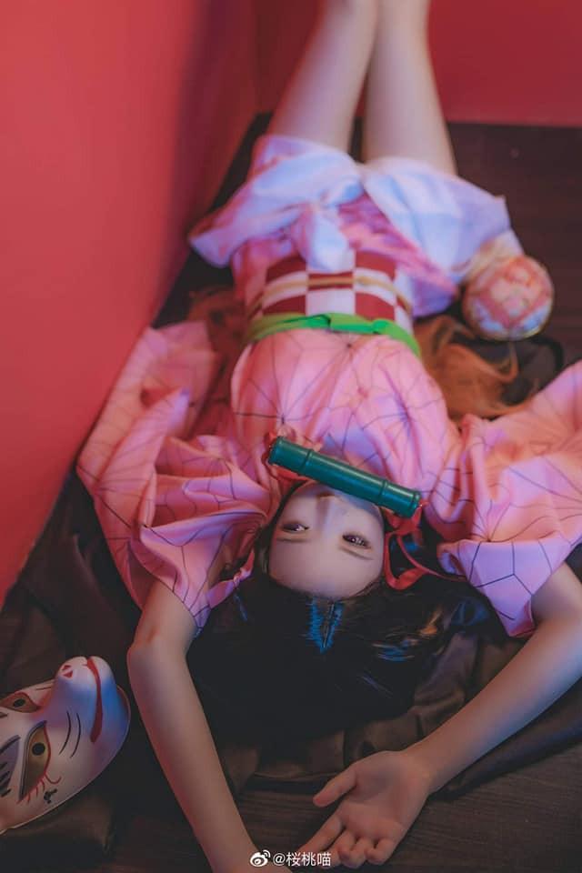 Ngắm nhìn Em gái quốc dân Nezuko trong Kimetsu no Yaiba qua bộ ảnh cosplay đẹp mắt - Ảnh 6.