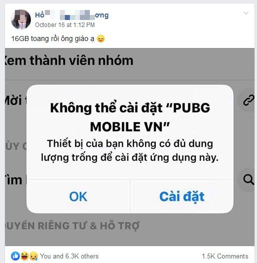 PUBG Mobile ngày một nặng, game thủ sở hữu iPhone 16GB sắp toang thật sự - Ảnh 3.
