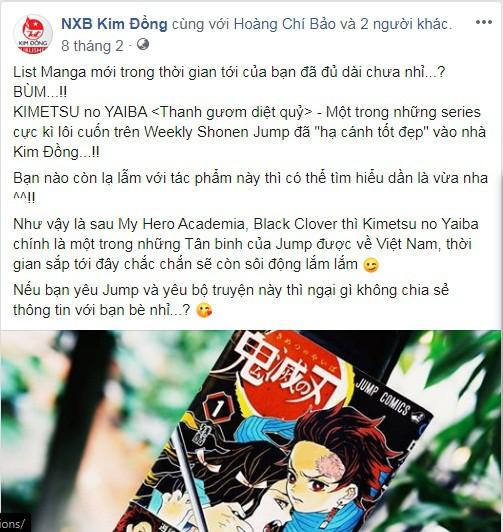 NXB Kim Đồng đưa quan điểm về việc dịch lậu thu tiền, kêu gọi fan hâm mộ nâng cao ý thức và mua manga có bản quyền - Ảnh 2.