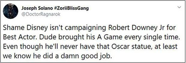Fan Marvel bất mãn khi Robert Downey Jr. không có tên trong đề cử Oscar, phải chăng đây lại là một chiêu trò của Nhà Chuột? - Ảnh 7.