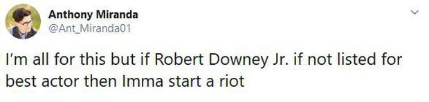 Fan Marvel bất mãn khi Robert Downey Jr. không có tên trong đề cử Oscar, phải chăng đây lại là một chiêu trò của Nhà Chuột? - Ảnh 9.