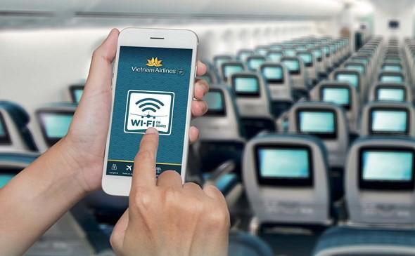 Vietnam Airlines mở dịch vụ Internet trên máy bay, gói đắt nhất là 735.000 đồng với dung lượng 80mb - Ảnh 1.