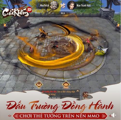 Đấu Trường Đồng Hành: Hoạt động chơi thẻ tướng trên nền nhập vai độc nhất vô nhị chỉ có trong bom tấn Cửu Kiếm 3D - Ảnh 2.