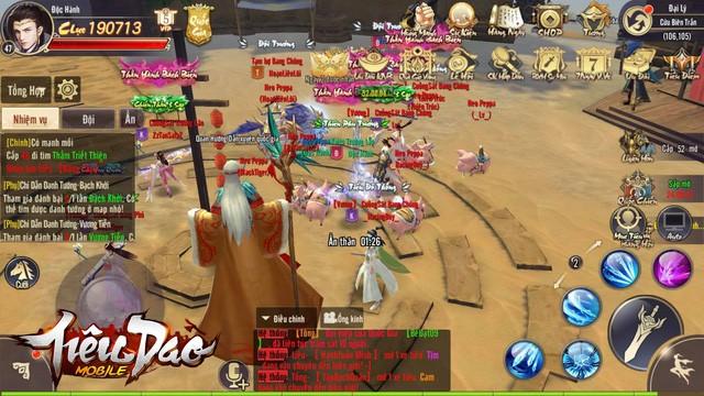 Trải nghiệm Tiêu Dao Mobile - Siêu phẩm nhập vai thỏa sức tranh đấu - Ảnh 4.