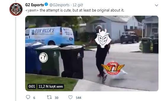 LMHT - Tường thuật trực tiếp: Cụ tổ ngành cà khịa G2 Esports đại chiến SKT trên mạng xã hội - Ảnh 7.