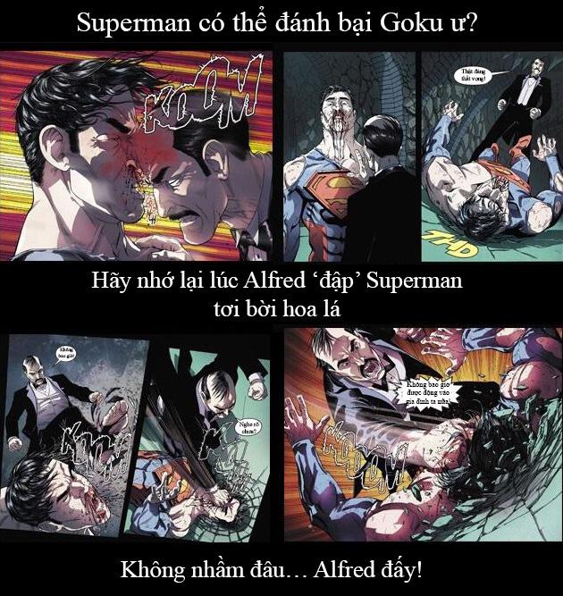 Giải trí với loạt meme vui về cuộc chiến không cân sức giữa Goku và Superman - Ảnh 7.