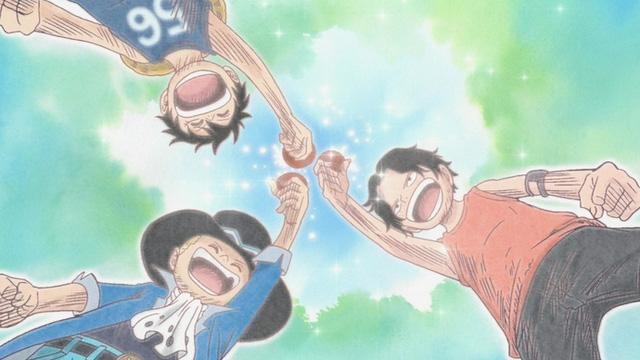 One Piece: Tình anh em của Luffy và những mối quan hệ để lại ấn tượng sâu sắc trong lòng fan - Ảnh 1.