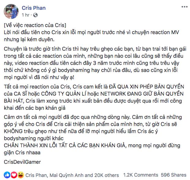 Cùng bị antifan cà khịa, Cris Phan hoa hậu thân thiện bất ngờ, Khoa Pug lại khiến dân tình mệt mỏi với drama dài tập - Ảnh 9.