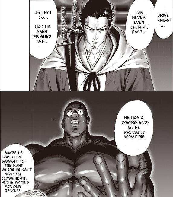 One Punch Man: Đâu là xuất thân thật sự của Drive Knight? - Ảnh 3.