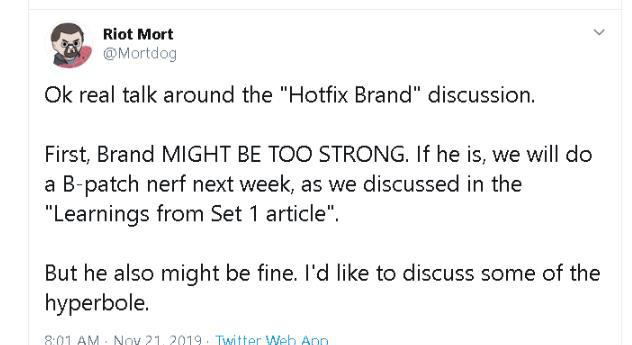 Đấu Trường Chân Lý: Oanh tạc phiên bản Xếp hạng đầu tiên của mùa 2, Brand ngay lập tức bị Riot sờ gáy - Ảnh 1.