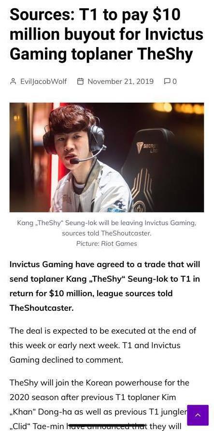 LMHT: TheShy khẳng định sẽ tiếp tục gắn bó cùng Invictus Gaming sau hàng loạt tin đồn chuyển nhượng - Ảnh 1.