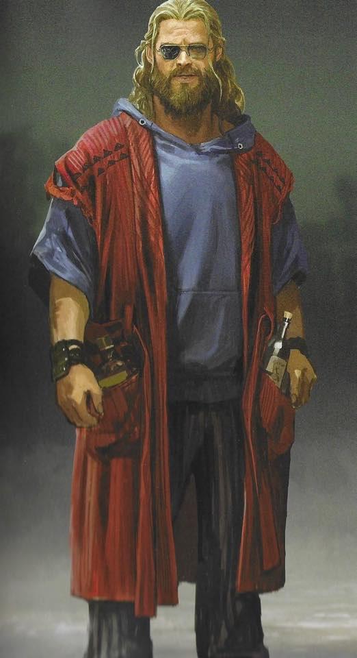 Chết cười khi ngắm loạt ảnh dìm Thần Sấm Bro Thor trong Avengers: Endgame - Ảnh 12.