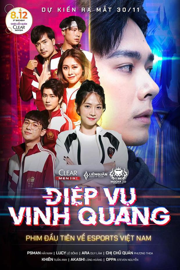 Xuất hiện bộ phim về Esports ở Việt Nam, Pewpew, Độ Mixi hóa thân thành anh quản lý - Ảnh 1.