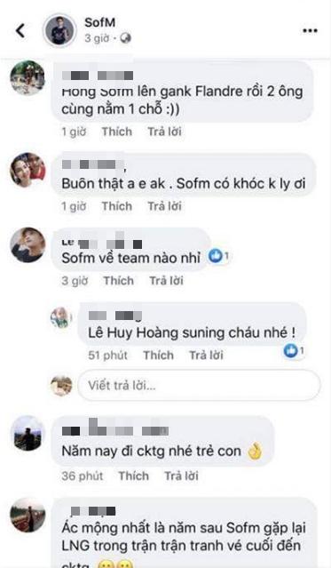 Người thân của SofM vô tình hé lộ: Thần rừng Việt Nam sẽ gia nhập Suning Gaming? - Ảnh 2.