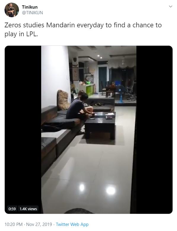 HLV Tinikun xác nhận Zeros sắp sang LPL, fan Trung Quốc lo ngại sẽ dẫm vào vết xe đổ của Levi - Ảnh 3.