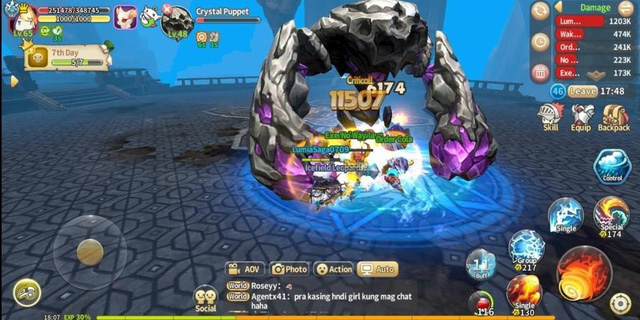 Loạt game mobile nhập vai siêu đỉnh lại còn miễn phí, ai thích đấm đá cày kéo thì quá hợp - Ảnh 13.