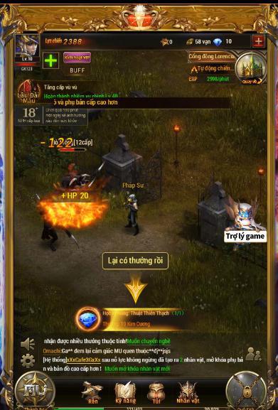 game mobile nhập vai mang phong cách châu Âu thời kỳ Trung Cổ MU Đại Thiên Sứ H5 2-1573124311072732588348