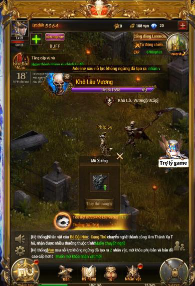 game mobile nhập vai mang phong cách châu Âu thời kỳ Trung Cổ MU Đại Thiên Sứ H5 3-1573124311074484981431