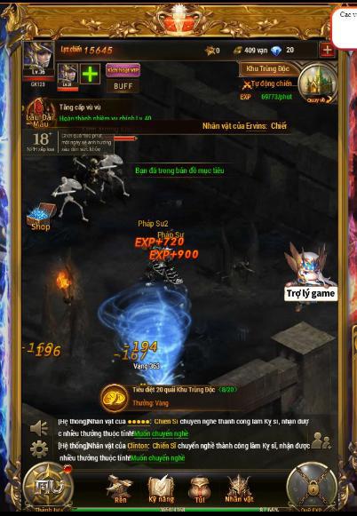 game mobile nhập vai mang phong cách châu Âu thời kỳ Trung Cổ MU Đại Thiên Sứ H5 6-15731243110821492594322