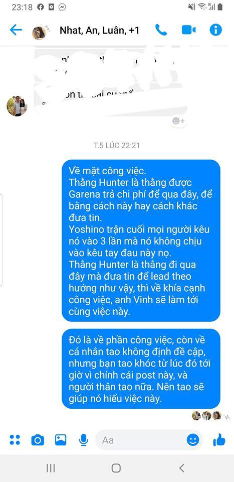 LMHT - HLV Tinikun tố thành viên VETV lấy việc công trả thù riêng công kích GAM vì không được... quà cáp đầy đủ - Ảnh 4.