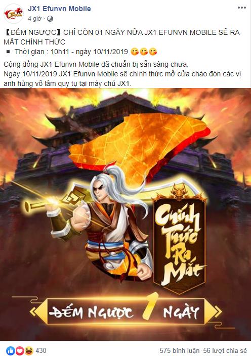 Giờ G sắp điểm, anh em game thủ khắp các tỉnh thành sẵn sàng cháy cùng JX1 EfunVN - Huyền Thoại Võ Lâm - Ảnh 3.