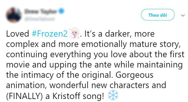 Phản ứng đầu tiên về Frozen 2: Cảm xúc, mãn nhãn, hoành tráng như phim siêu anh hùng - Ảnh 3.