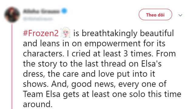 Phản ứng đầu tiên về Frozen 2: Cảm xúc, mãn nhãn, hoành tráng như phim siêu anh hùng - Ảnh 6.