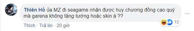 Mocha ZD giành HCĐ cao quý, game thủ Liên Quân Mobile đòi tặng FREE tướng và skin - Ảnh 3.