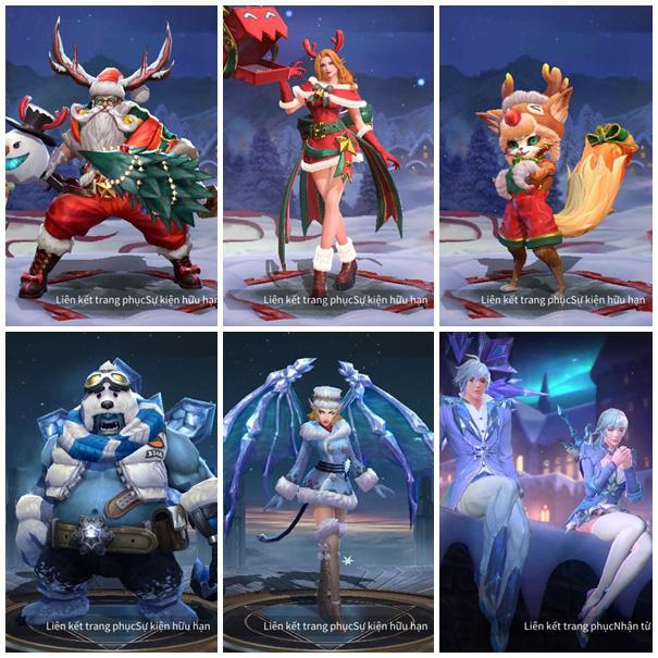 Liên Quân Mobile: Garena lại thả thính, lộ trình tặng FREE item Dạ hội, Giáng sinh bắt đầu - Ảnh 4.