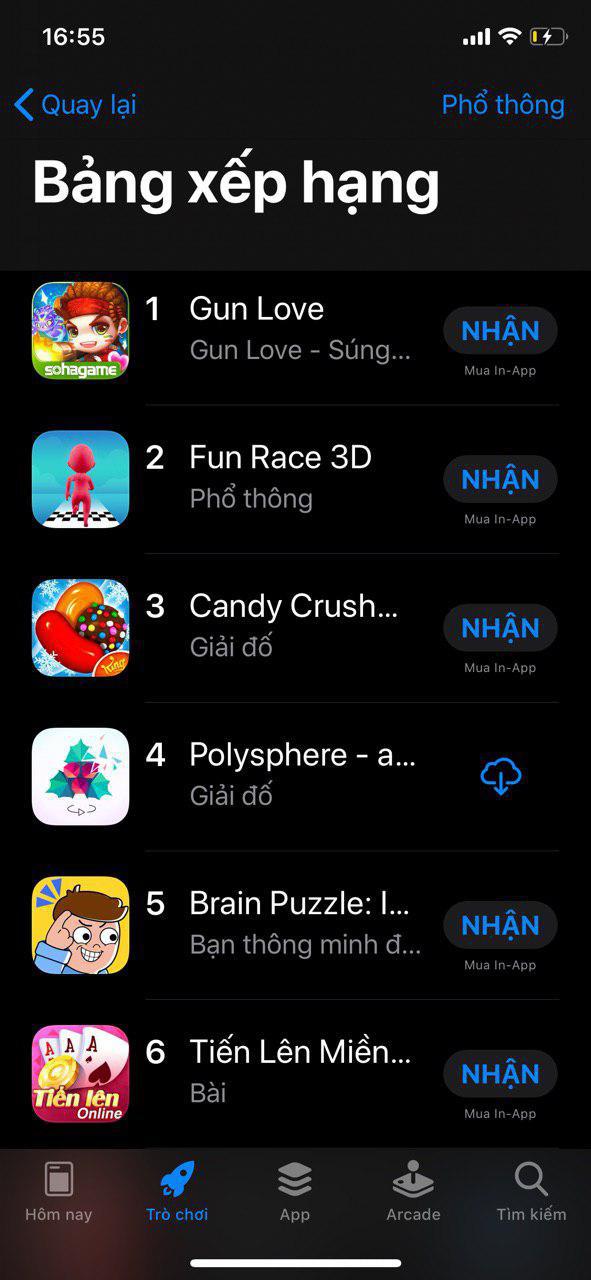 """Liên tiếp vượt mặt PUBG Mobile và Liên Quân Mobile trên App Store, Gun Love trở thành """"hiện tượng"""" 2019 - Ảnh 2."""