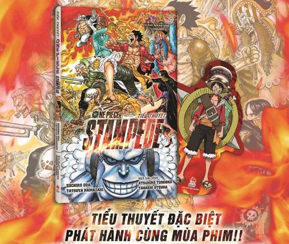 Ra mắt tiểu thuyết One Piece: Stampede, fan có dịp thưởng thức cùng lúc với movie! - Ảnh 4.